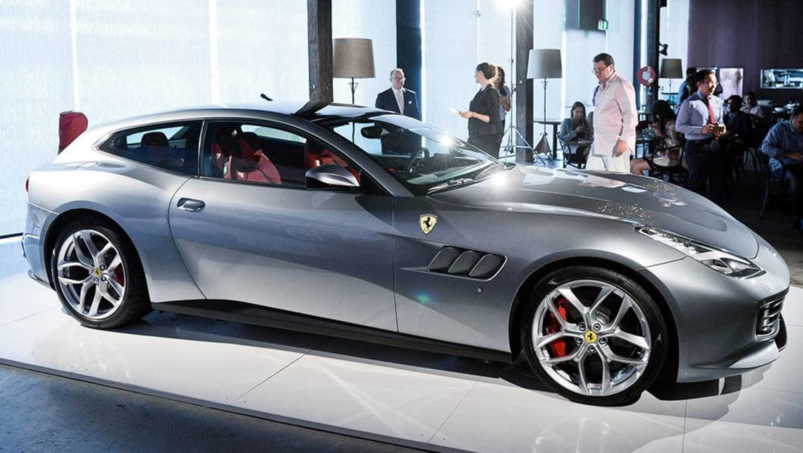 2017 ferrari gtc4 lusso t new car sales price car news carsguide. Black Bedroom Furniture Sets. Home Design Ideas