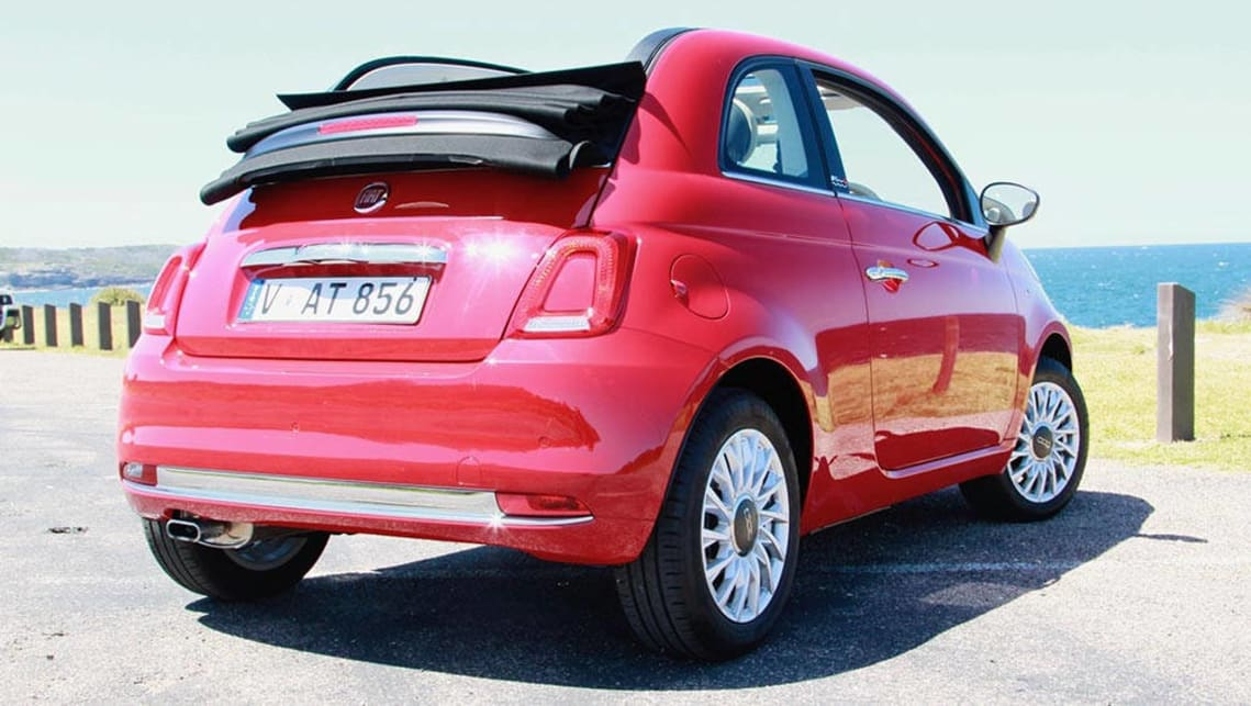 fiat 500c lounge manual 2016 review carsguide. Black Bedroom Furniture Sets. Home Design Ideas