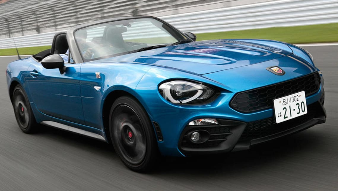 fiat abarth 124 spider 2016 review carsguide. Black Bedroom Furniture Sets. Home Design Ideas
