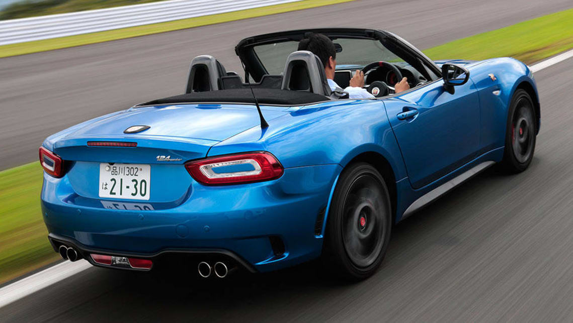 fiat abarth 124 spider 2016 review first drive carsguide. Black Bedroom Furniture Sets. Home Design Ideas