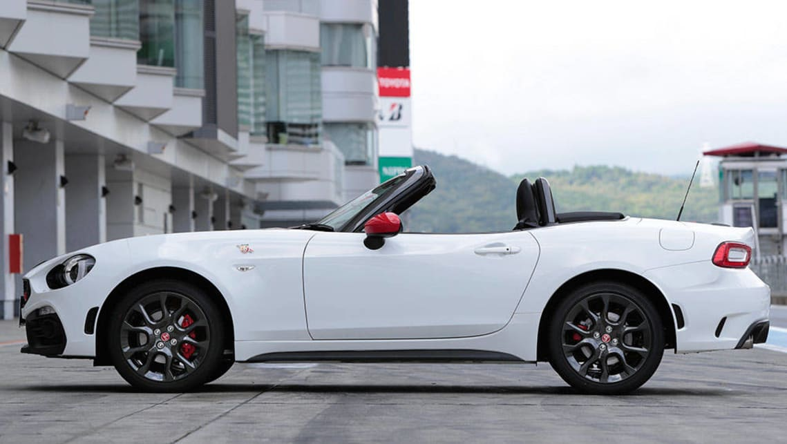 Fiat Abarth 124 Spider 2016 Review Carsguide