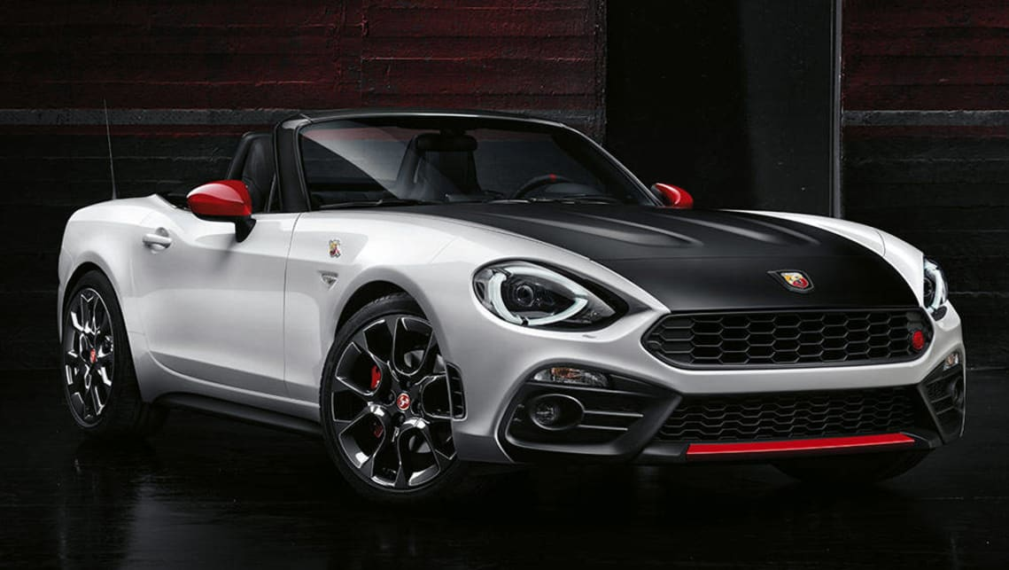 2016 Abarth 500 and 124 Spider detailed - Car News | CarsGuide
