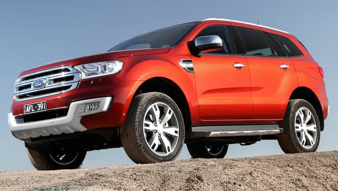 2016 Ford Everest Titanium Review Road Test Carsguide
