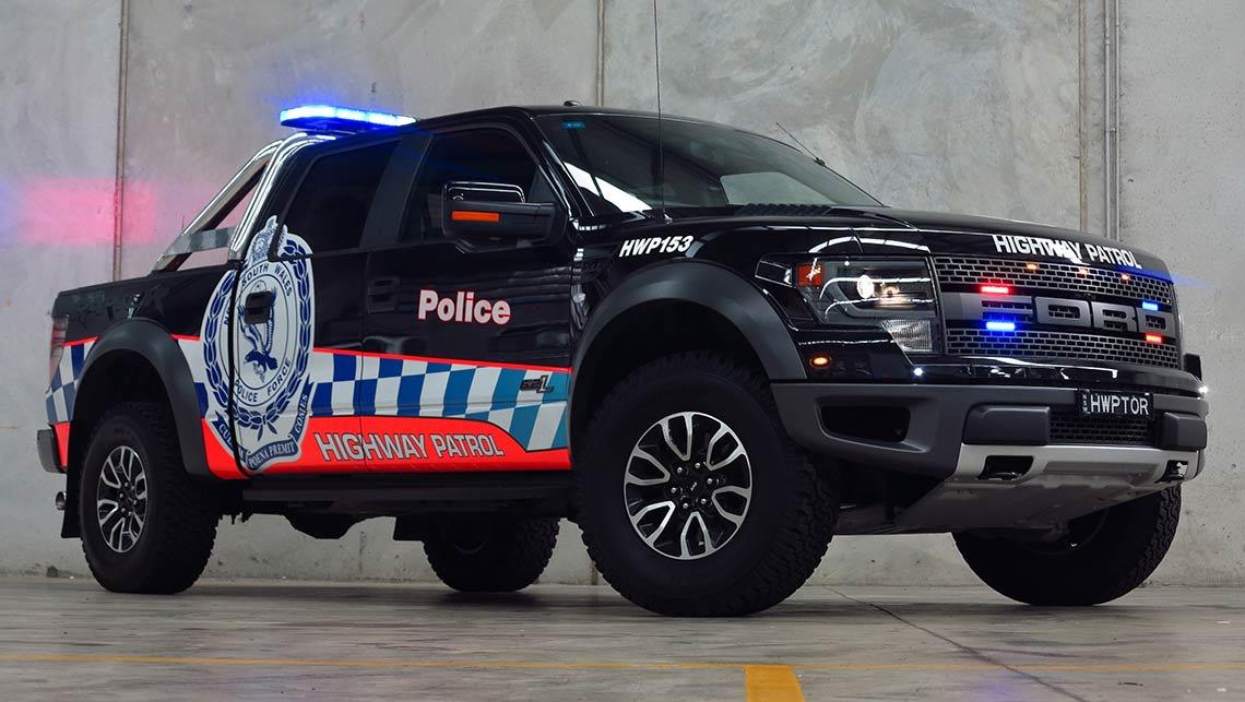 Ford F150 Raptor | the toughest police car in Australia ...