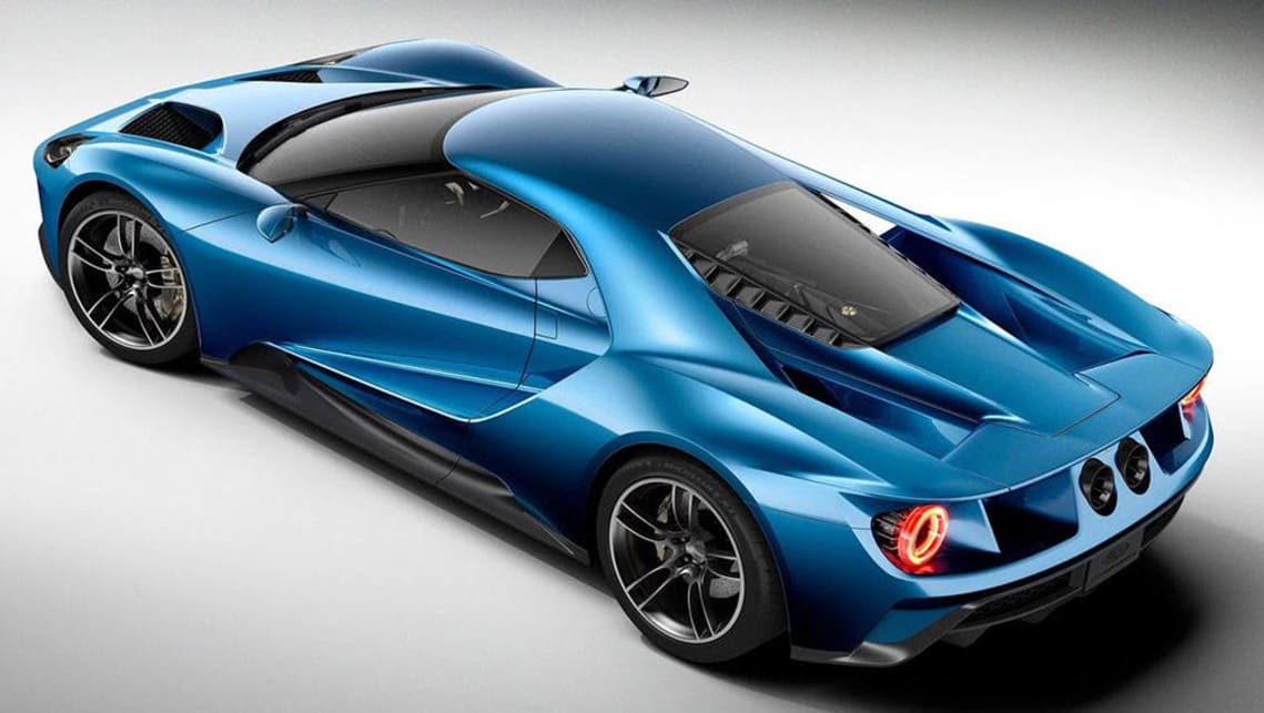 The New Ford Gt Supercar Will Ride On Wheels Made In Australia Picture Supplied
