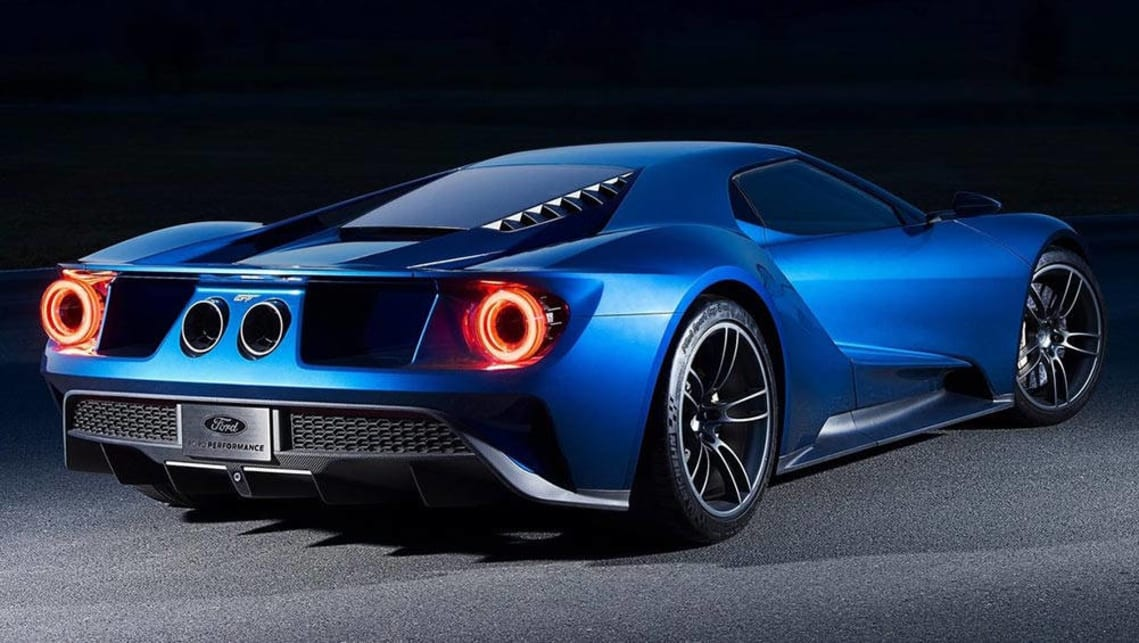 Ford Has  Orders For The New Gt But Only A Limited Number Will Be Made