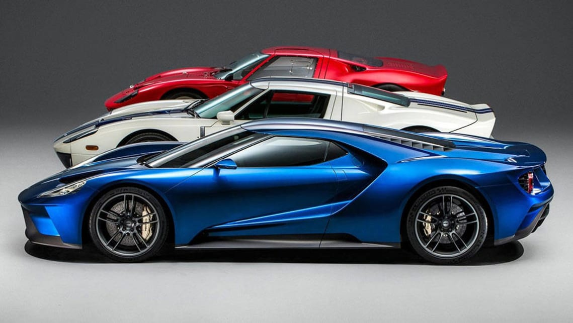 How The New Ford Gt Compares With The Original Back And The  Model