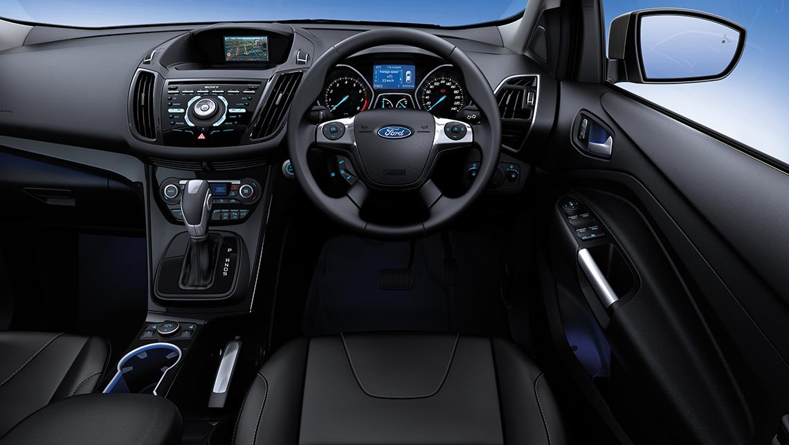 2015 ford kuga review first drive carsguide for Interior ford kuga