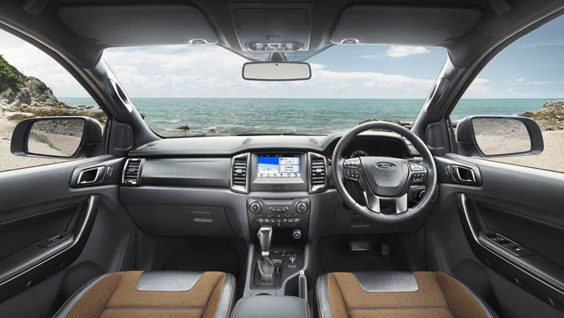 2017 Ford Ranger Brings SYNC3 Update Plus Reversing Camera And Sensors For Pickups