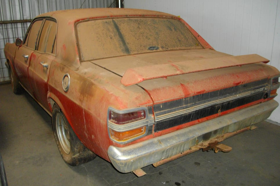 This Xy Gt Barn Find Raises The Question Resto Or