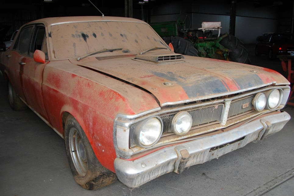 This XY GT barn find raises the question, resto or preserve ...