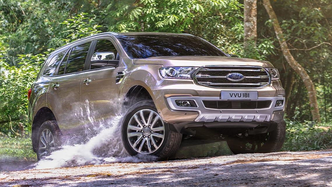 Ford Everest 2018 Pricing And Specs Confirmed Car News Carsguide