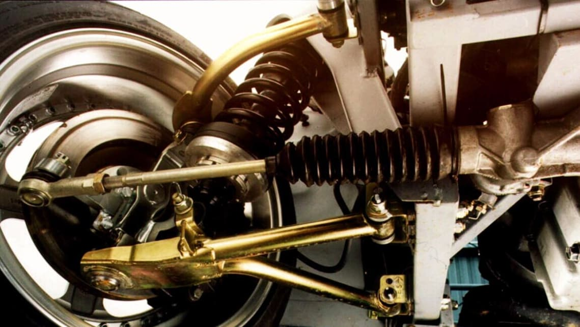 what are the different types of front suspension  and