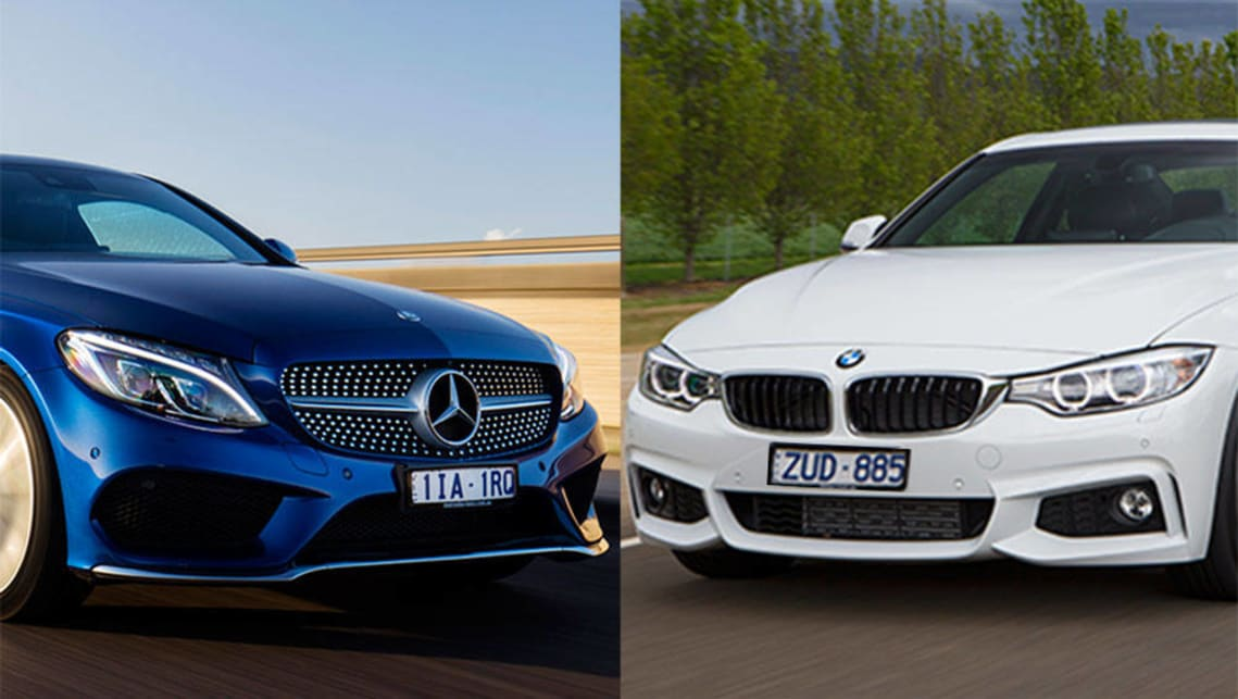 Mercedes Benz C200 Coupe Vs BMW 420i Coupe