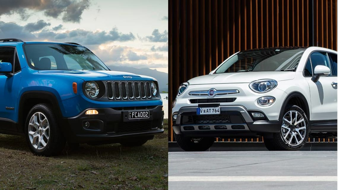 jeep renegade vs fiat 500x review | carsguide jeep renegade fuse diagram jeep renegade vs fiat 500x