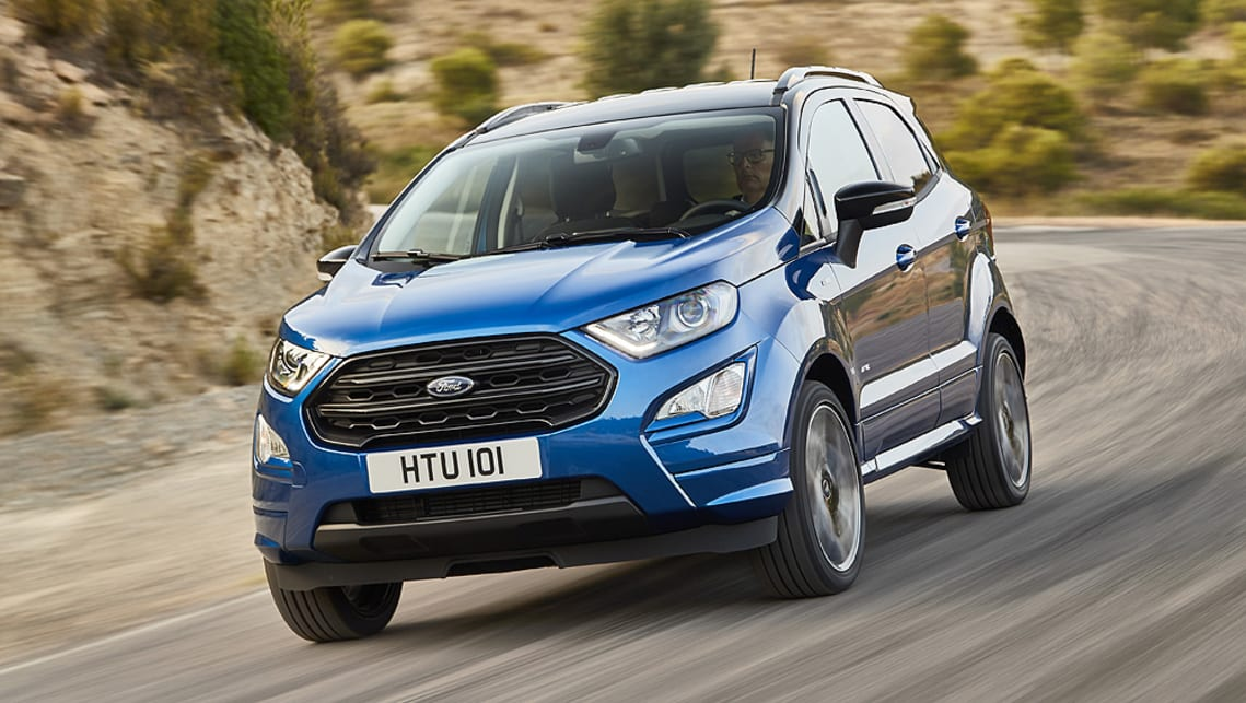 Ford unveils new EcoSport SUV to be produced in Romania