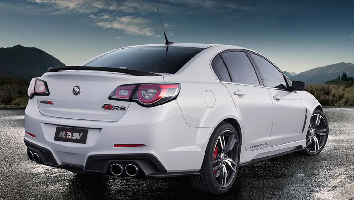 hsv genf2 clubsport r8 2016 review carsguide