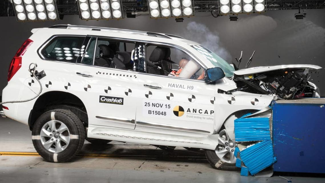 Chinese Haval H9 SUV slammed in world first independent crash test, conducted in Australia