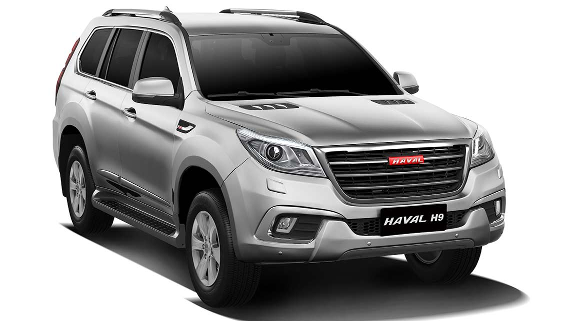 Haval H9 SUV from China (2015). Photo: Supplied.