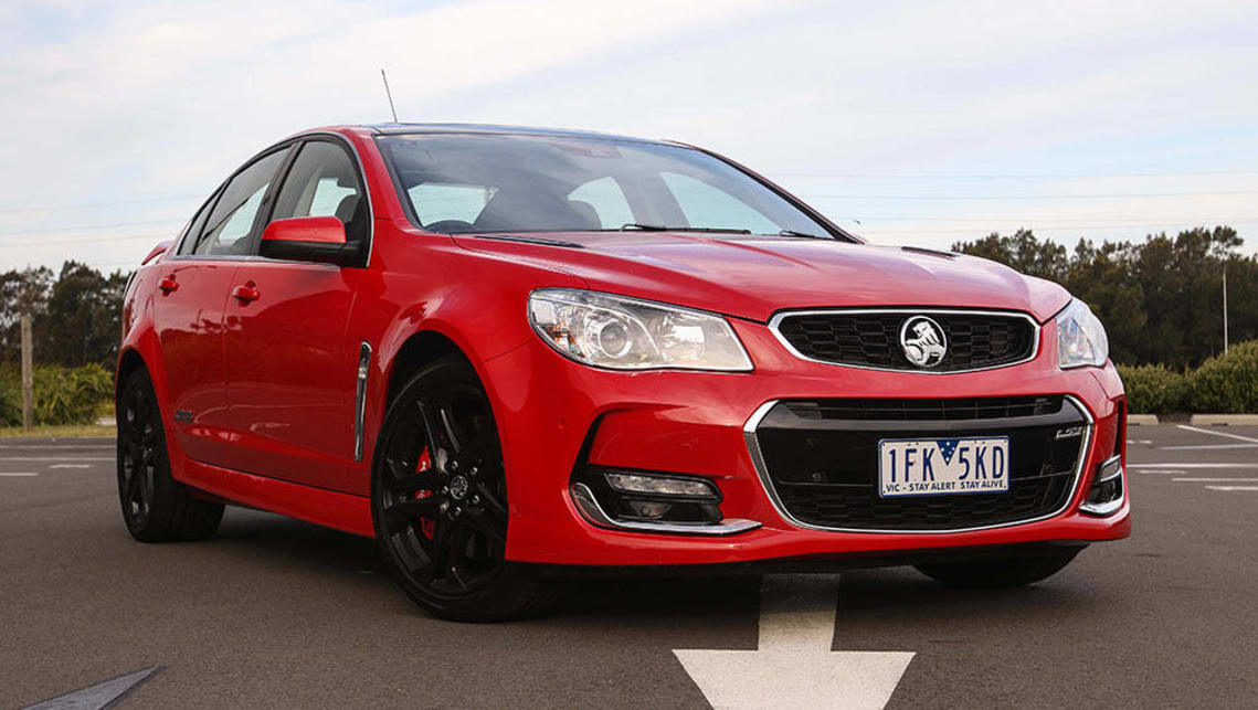 vfii holden commodore ssv redline sedan 2016 review
