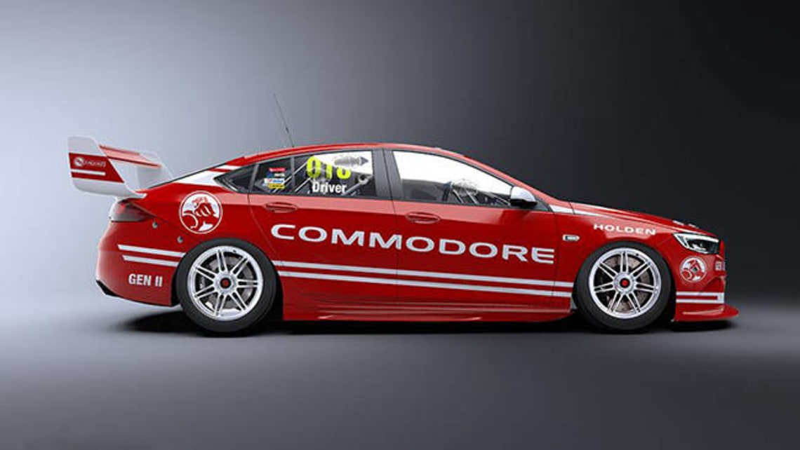 2018 Holden Commodore Supercars Racer Revealed With Rendering Car