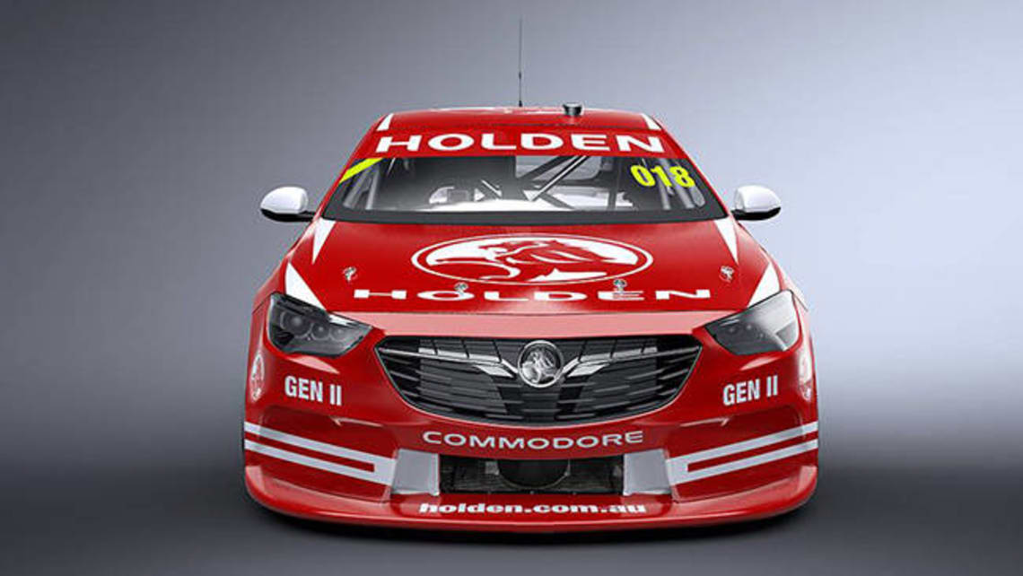 2018 Holden Commodore Supercars racer revealed with rendering - Car News | CarsGuide