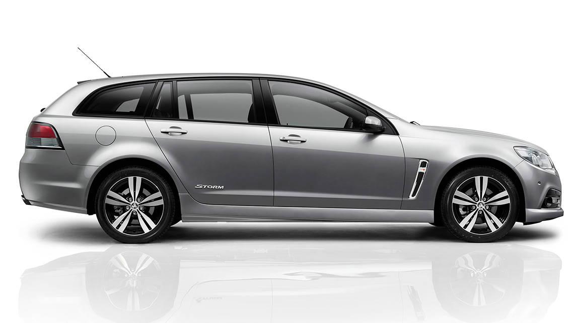 Original 2014 Holden Commodore SS Storm Sportwagon Review  CarsGuide