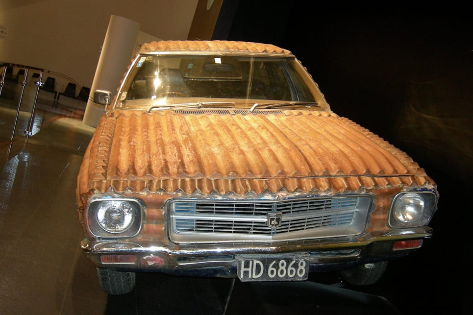 Car Talk Credits: This Corrugated Iron-wrapped HQ Holden Is More Aussie Than