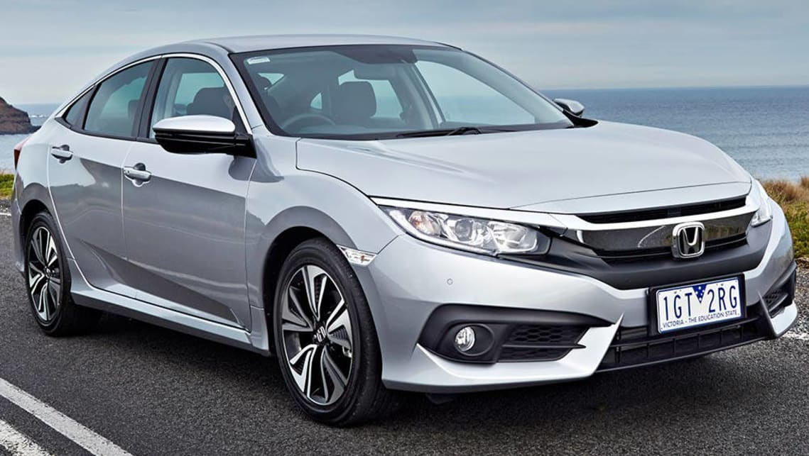 2016 Honda Civic VTi-L sedan