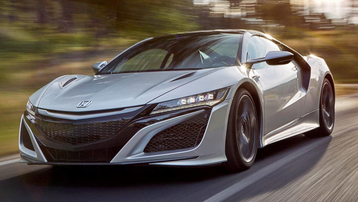 Honda Nsx 2017 Review First Drive Carsguide