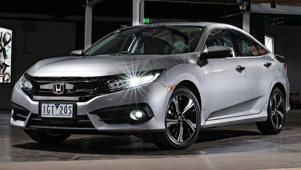 Elegant 2016 Honda Civic Sedan