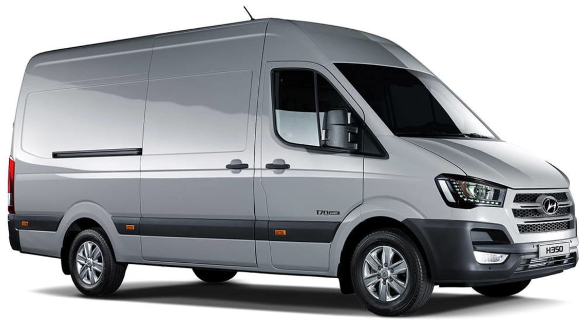Hyundai H350 fuel cell van concept revealed - Car News | CarsGuide
