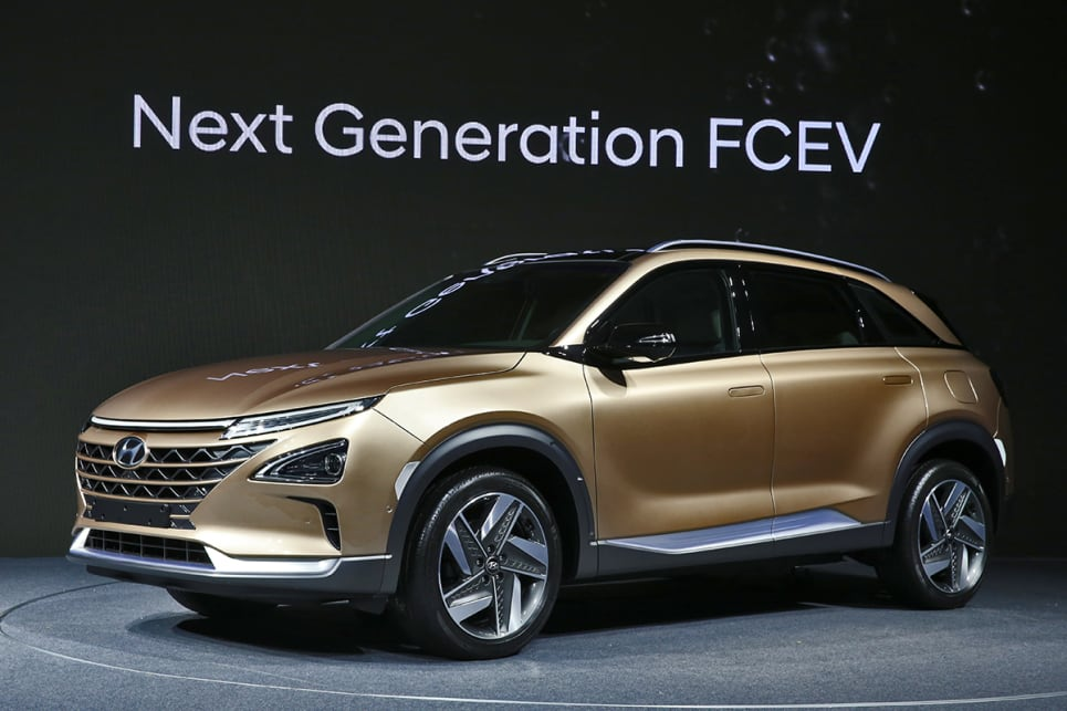 Hyundai hydrogen fuel cell SUV 2018 revealed - Car News | CarsGuide