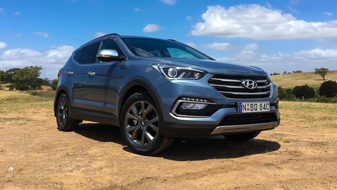 Hyundai Santa Fe 30 Special Edition V6 2017 Review