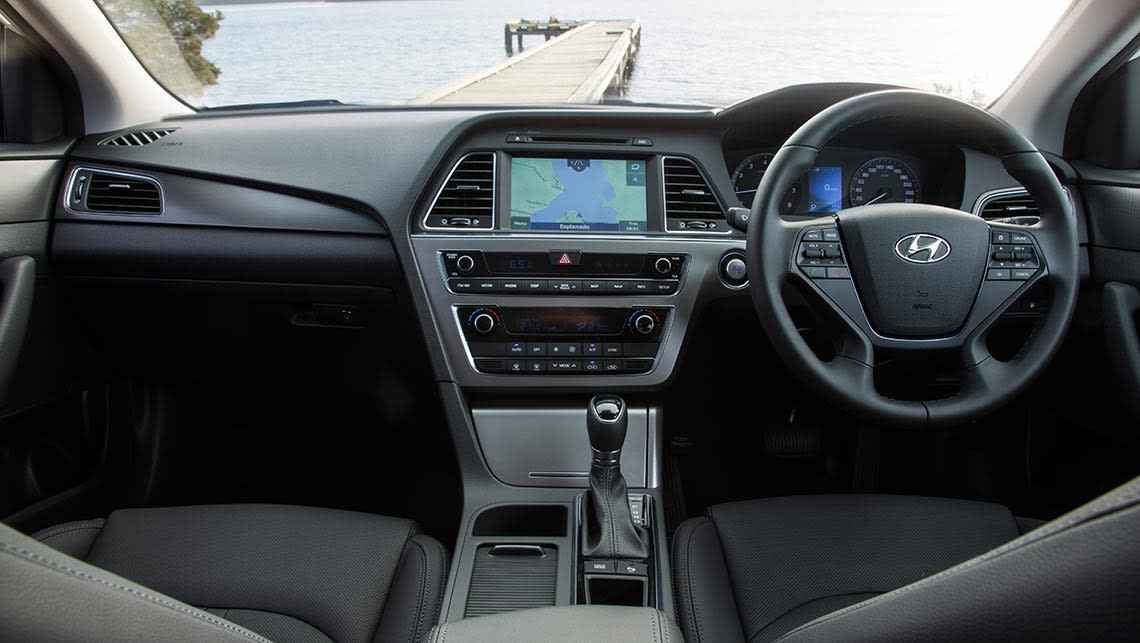 2016 hyundai sonata 2 0t elite review road test carsguide. Black Bedroom Furniture Sets. Home Design Ideas