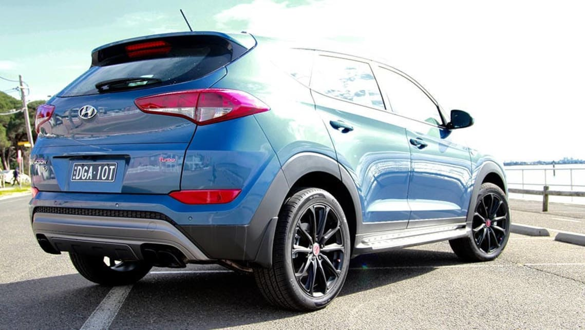 hyundai tucson  anniversary special edition  review carsguide