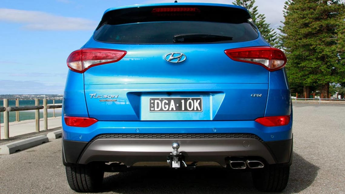 hyundai tucson highlander crdi diesel auto 2017 review road test carsguide