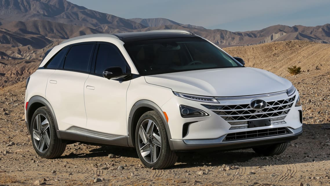 Hyundai's new Hydrogen Fuel Cell SUV Made its Debut at CES 2018