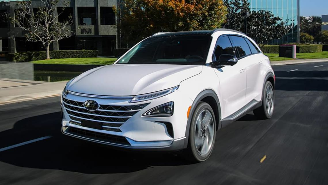 hyundai nexo 2018 fuel cell suv details announced car news carsguide. Black Bedroom Furniture Sets. Home Design Ideas