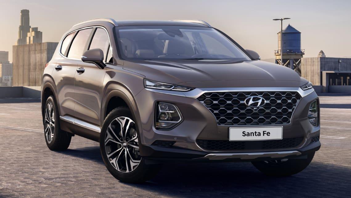Hyundai Santa Fe 2018 revealed - Car News   CarsGuide