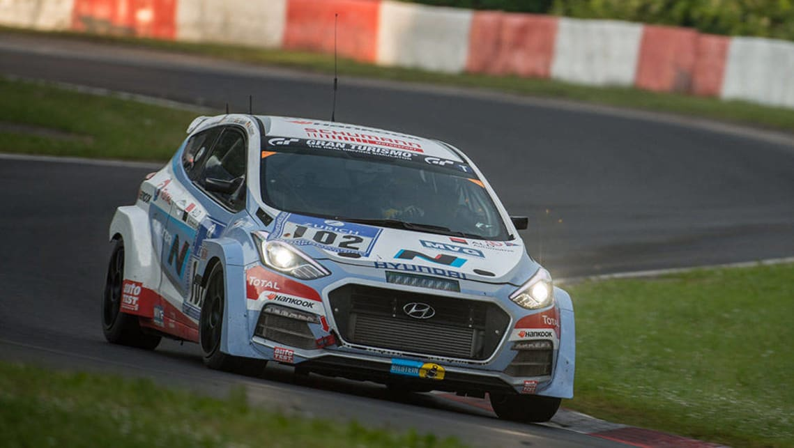 Hyundai N Performance Models One Step Closer After Nurburgring Trial