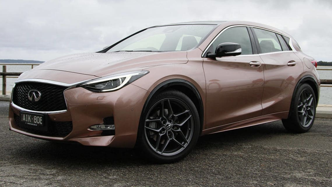 infiniti q30 sport premium diesel 2017 review carsguide. Black Bedroom Furniture Sets. Home Design Ideas