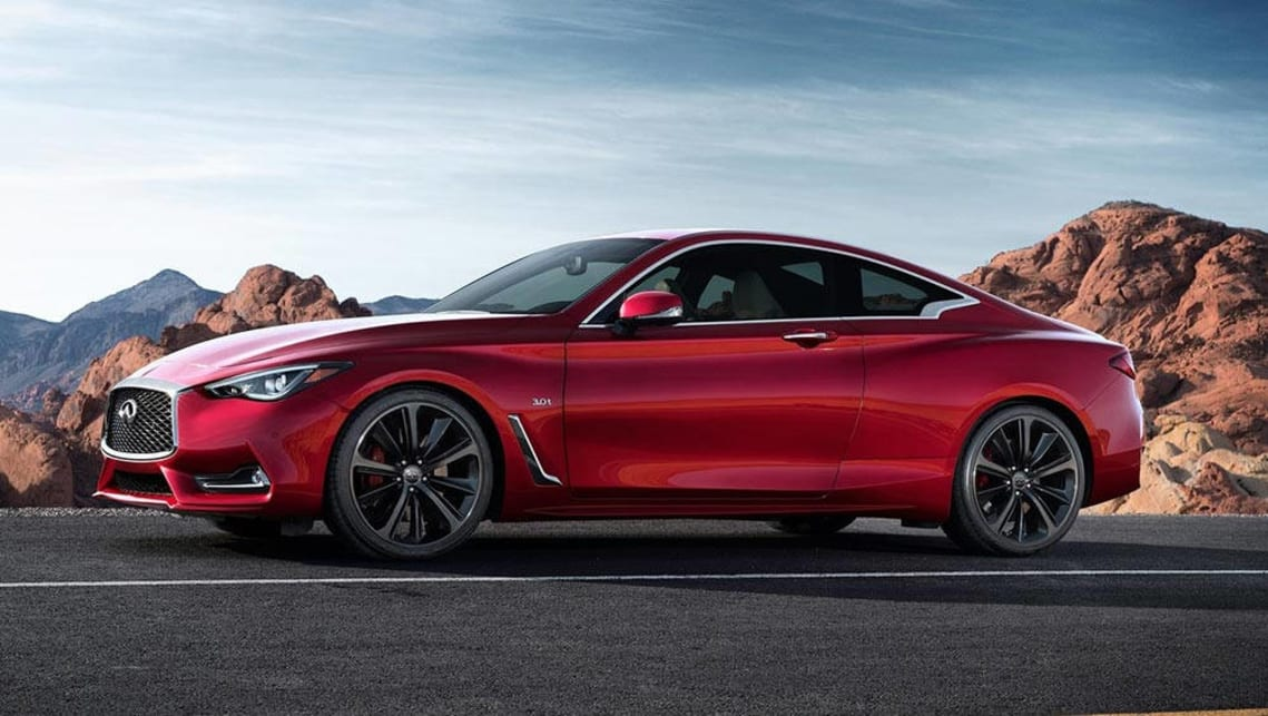 Superb Infiniti Q60 Red Sport