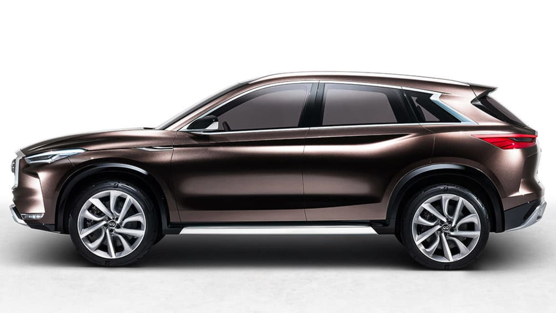 production ready infiniti qx50 suv unveiled video car news carsguide. Black Bedroom Furniture Sets. Home Design Ideas