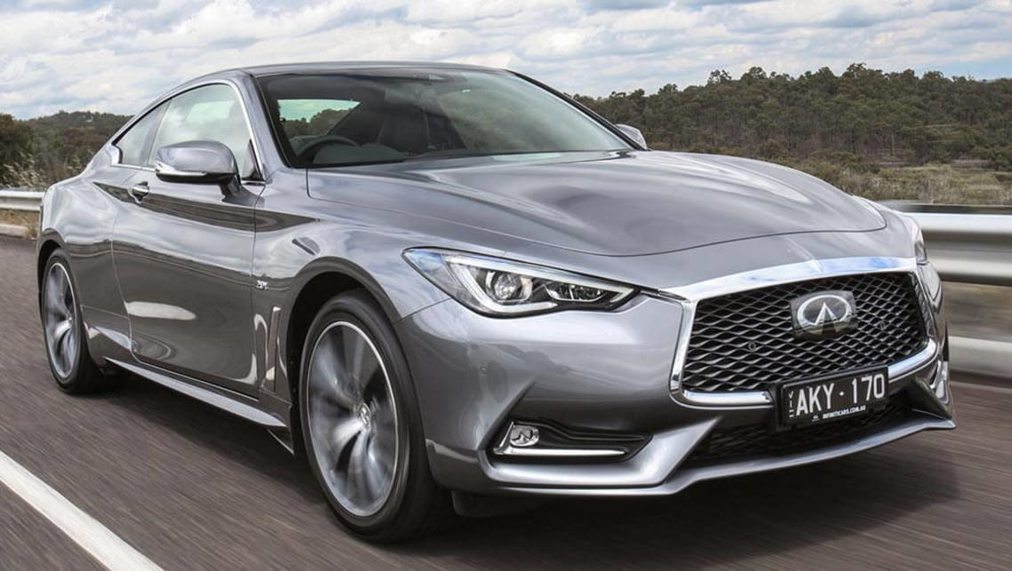 infiniti q60 2016 review first australian drive carsguide. Black Bedroom Furniture Sets. Home Design Ideas