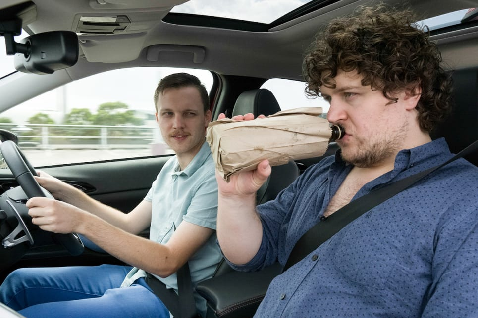 Is It Illegal For Passengers To Drink In A Car