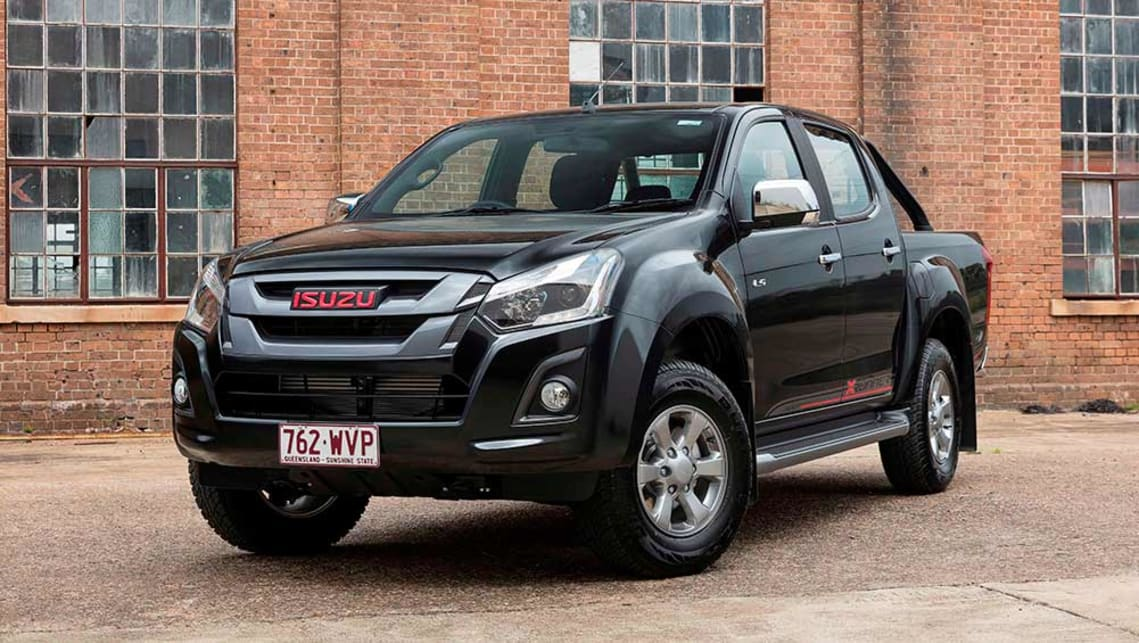 2017 isuzu d max x runner new car sales price car news carsguide. Black Bedroom Furniture Sets. Home Design Ideas