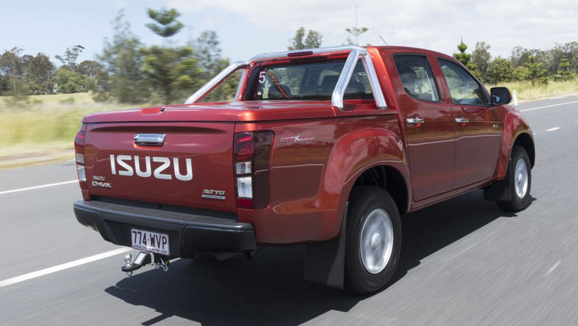 2017 isuzu d max new car sales price car news carsguide. Black Bedroom Furniture Sets. Home Design Ideas
