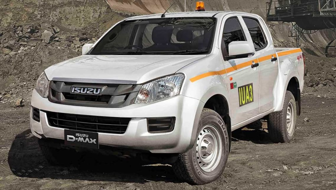 isuzu d max sx 2016 review road test carsguide. Black Bedroom Furniture Sets. Home Design Ideas