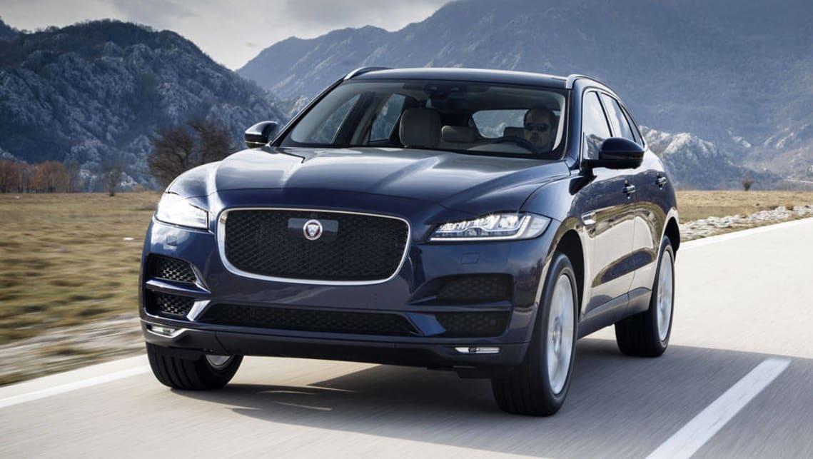 jaguar xe, xf and f-pace score ingenium petrols for mid-2017 - car